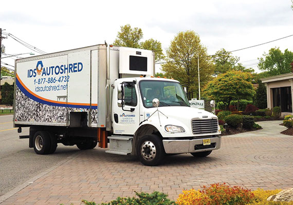 IDSAutoshred Mobile Shredding Truck