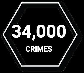 34000 Crimes